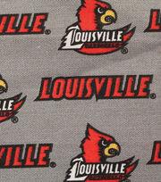 "University of Louisville Cardinals Canvas Fabric 58""-Logo, , hi-res"