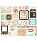 I\u0027d Rather Be Crafting Ephemera 33 pk Cardstock Die-Cuts-Icons