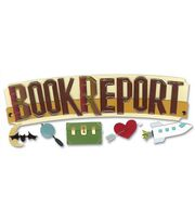 Jolee's Boutique Title Wave Stickers-Book Report, , hi-res