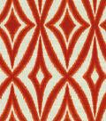 Waverly Print Fabric-Centro/Campari