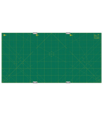 Olfa 35''x70'' Gridded Cutting Mats with Clips