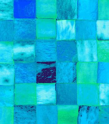 "Anti-Pill Fleece Fabric 59""-Teal Tile"