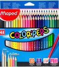 Color\u0027Peps Triangular Colored Pencils-Assorted
