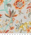 Williamsburg Upholstery Fabric 54\u0027\u0027-Persimmon Braganza