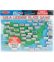 Melissa & Doug U.S.A. License Plate Game, , hi-res
