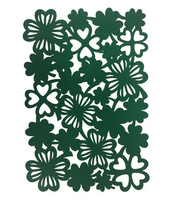 St. Patrick's Day 19''x13'' Shamrocks Placemat
