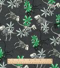 Snuggle Flannel Fabric 42\u0022-Skeleton Dinosaurs