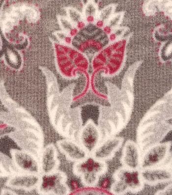 "3 Yard Pre-Cut Anti-Pill Fleece Fabric 59""-Regal Medallion"