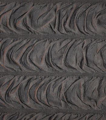 """The Witching Hour Halloween Knit Fabric 48""""-Coffin Black"""