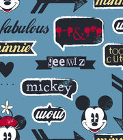 "Disney® Mickey Mouse Cotton Fabric 43""-Icons, , hi-res"