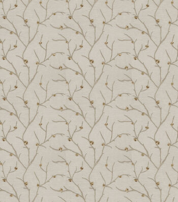"""Eaton Square Sheer Fabric 51""""-Remedy/Taupe"""