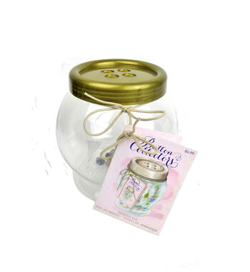 Small Button Collector Jar