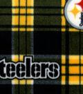 Pittsburgh Steelers Fleece Fabric 58\u0027\u0027-Plaids