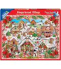 White Mountain Puzzles 24\u0027\u0027x30\u0027\u0027 Jigsaw Puzzle-Gingerbread Houses