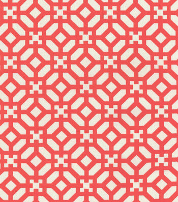 """Waverly Outdoor Fabric 54""""-In the Frame Peachtini"""
