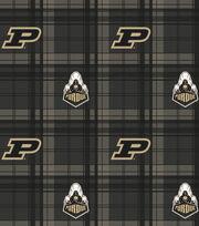 "Purdue University Boilermakers Fleece Fabric 58""-Plaid, , hi-res"