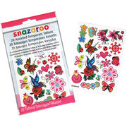Creativity For Kids Snazaroo Temporary Tattoos Girls, , hi-res