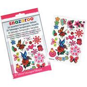 Creativity For Kids Snazaroo Temporary Tattoos Girls, , hi-res