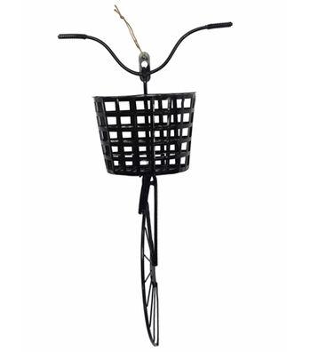 Hello Spring Bike Wall Decor-Black
