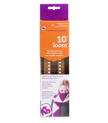 "Knitting Board 10"" Small Gauge Knitting Board with DVD"