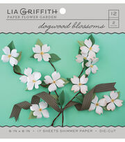 Lia Griffith Paper Flower Garden-Dogwood Blossoms, , hi-res