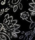 Knit Fabric-Jasmine Floral Kimono Ity Knit