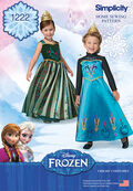 Simplicity® Pattern 1222A 3-4-5-6-7--Costumes