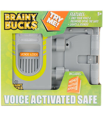 Brainy Bucks Voice Activated Safe