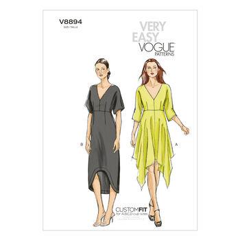 Vogue Patterns Misses Dress-V8894