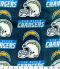 San Diego Chargers Fleece Fabric 58\u0022-Logo