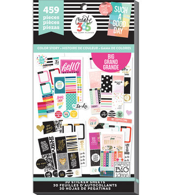 Create 365 Happy Planner Sticker Value Pack-Big Color Way