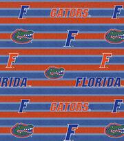 "University of Florida Gators Fleece Fabric 58""-Polo Stripe, , hi-res"