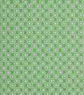 1930\u0027s Cotton Fabric 43\u0022-Floral Dot Green