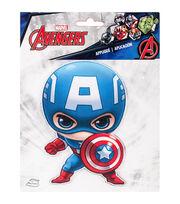 Marvel Comics Captian America Iron-On Applique, , hi-res