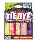 Crayola Tie Dye Sidewalk Chalk 5ct