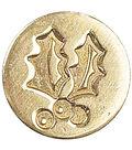 Manuscript Decorative Seal Coin-Holly