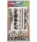 Ranger® Dylusions Stamp & Stencil Set-Hearts Edge