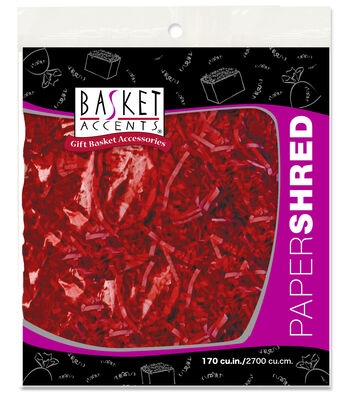 Filler Paper 4 oz-Red