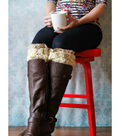 Hazel & Ruby Holiday Crafternoon Knitted Boot Cuffs