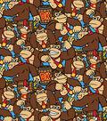 Donkey Kong Cotton Fabric 43\u0027\u0027-Packed