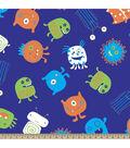 Blizzard Fleece Fabric-Monsters