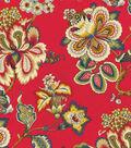 HGTV Home Upholstery Fabric-Bespoke Blossoms Gemstone
