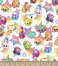 Shopkins Cotton Fabric 43\u0022-Gotta Dance