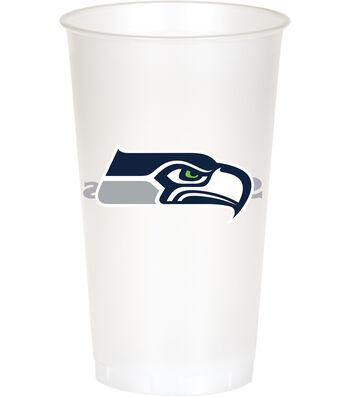 Seattle Seahawks Plastic Cups