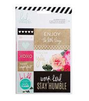 Heidi Swapp Memory Planner 20 Pack 4.65''x5.45'' Sticker-Calendar, , hi-res