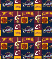 "Cleveland Cavaliers Cotton Fabric 44""-Patch, , hi-res"