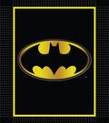 No Sew Fleece Throw 48\u0022-Batman Logo
