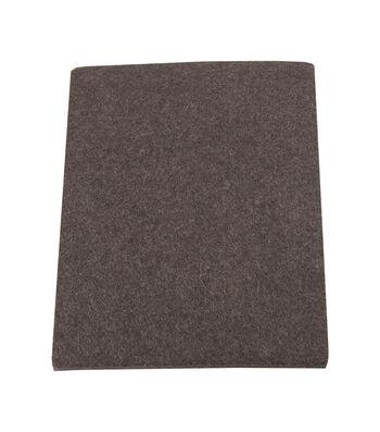 4-1/2 X 6 In Brown Felt Pads 2Ct