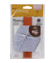 Cuttlebug A2 Embossing Folder/Border Set-Crown Medallion By Anna Griffin, , hi-res