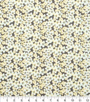 "Keepsake Calico™ Cotton Fabric 43""-Small Floral Gray and Yellow, , hi-res"